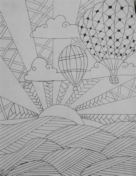 Técnica zentangle | صور للتلوين in 2019 | Easy doodle art