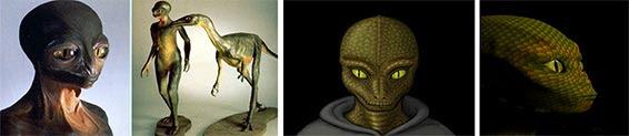 Рептилоиды живут на Земле