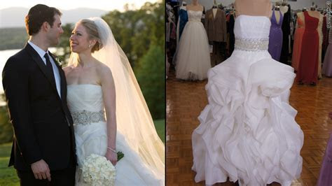 Want to wear Chelsea Clinton's wedding dress? ? The