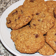 Almond Chocolate Chip Coconut Cookies Recipe, Cookies, Pastries, Bread, Coconut, Almond, Snacks, Recipes