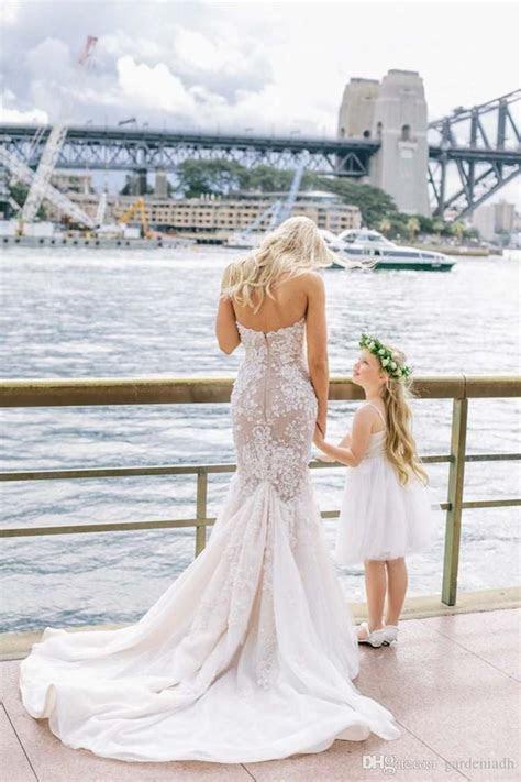Steven Khalil Mermaid Wedding Dresses Blush Pink