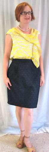 Front with Lace Skirt