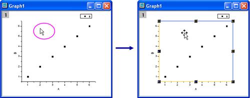 Help Online - Origin Help - Copying and Pasting Graphs inside Origin