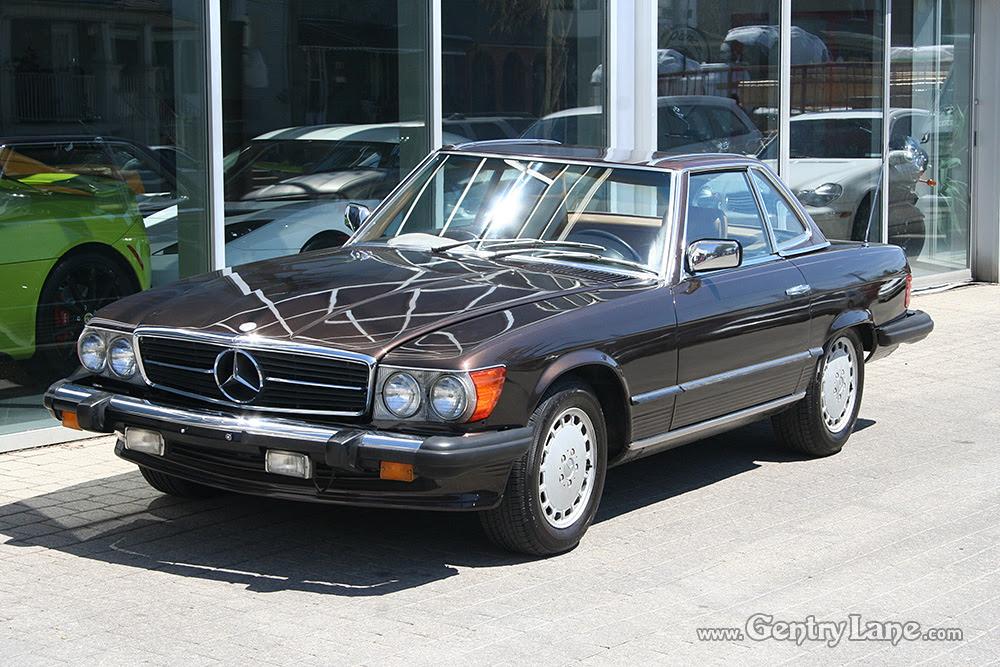 1980 Mercedes-Benz 450SL Convertible   Gentry Lane Automobiles