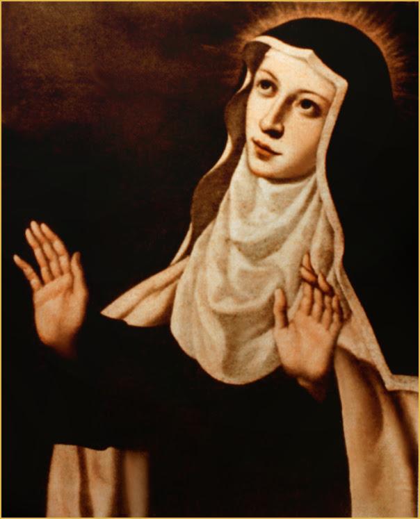IMG ST. MARY Magdalene de Pazzi