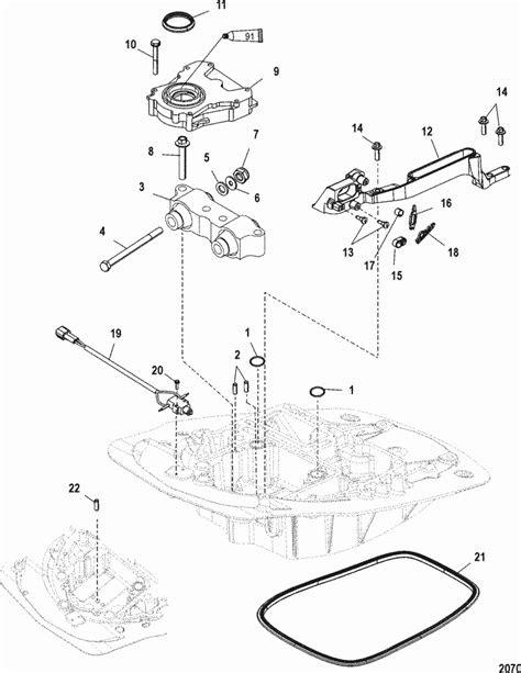 Mercury Marine 115 HP EFI (4-Stroke) Oil Pump Parts