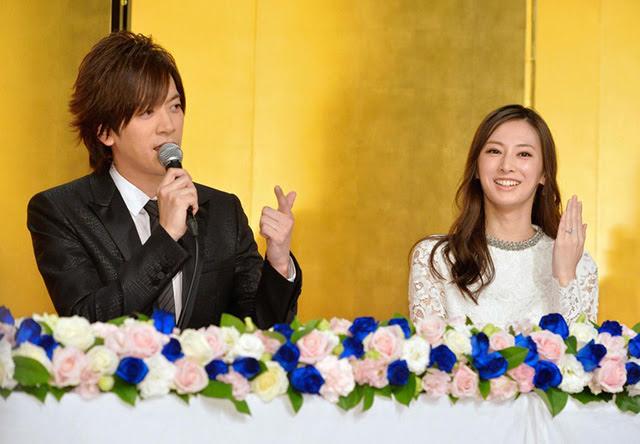 日藝 Daigo北川景子結婚記者會秀千萬鑽戒談想生幾多個 有片 劍心 回憶