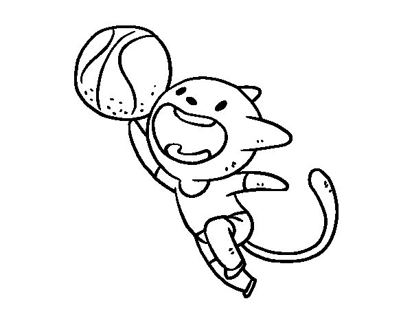 Disegni Di Basket Migliori Pagine Da Colorare
