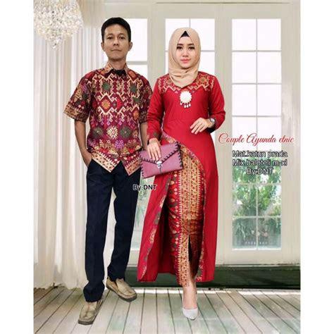 batik couple ayunda etnic kebaya modern baju muslim baju