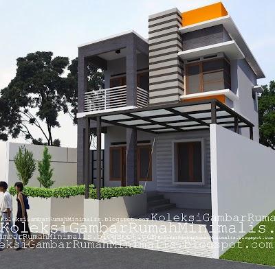 Gambar Rumah Minimalis 2 Lantai Ukuran 6x12 Sekitar Rumah
