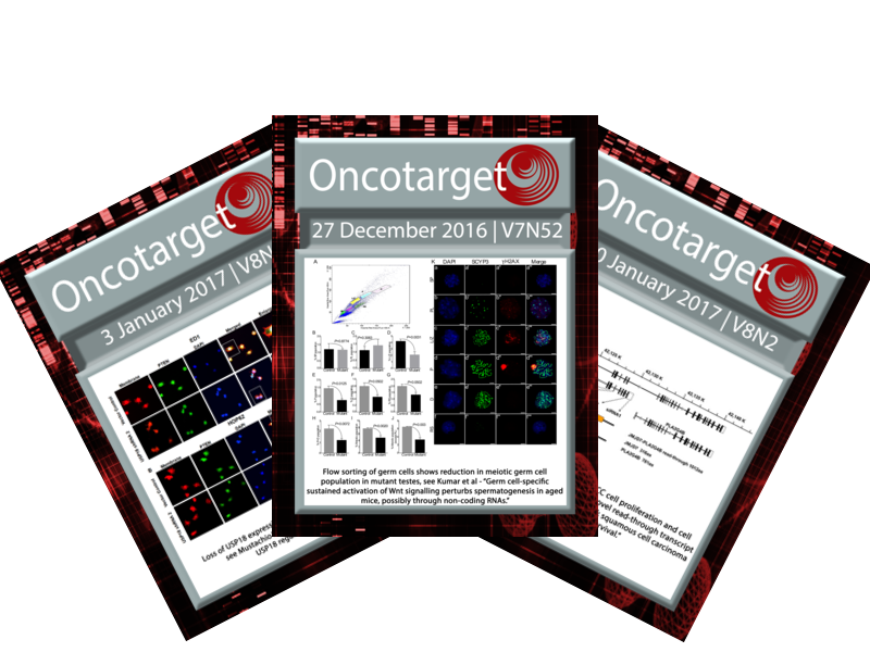 Oncotarget In The News Press Releases