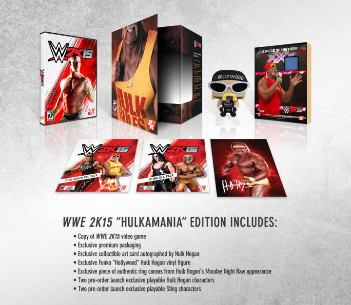 WWE2K15 Collectors Edition Content