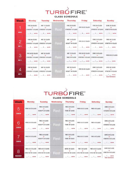 insanity workout schedule calendar. dresses insanity workout