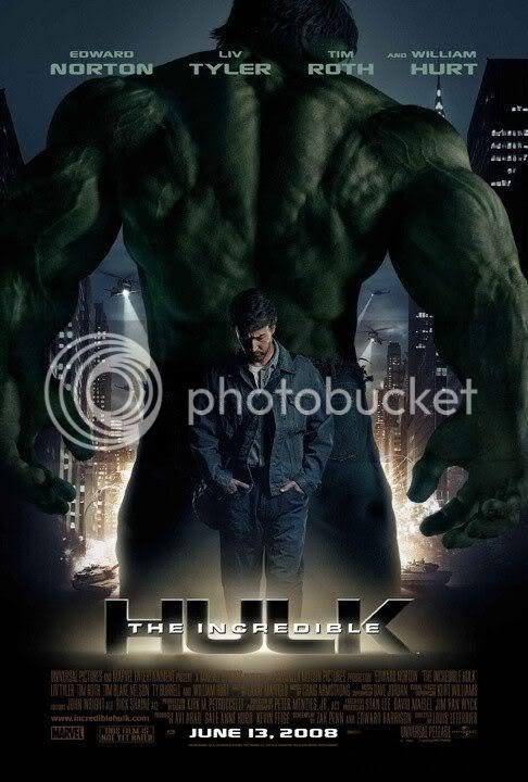 Poster Oficial do Incrível Hulk