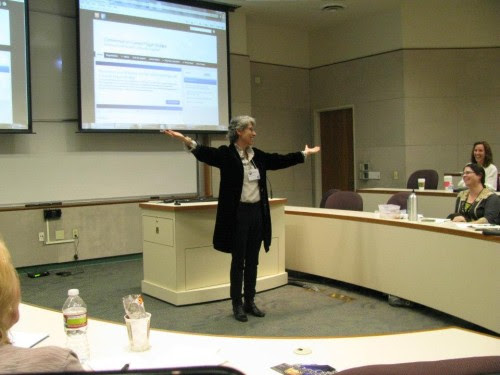 Sabina Magliocco at the Conference on Current Pagan Studies. (Photo: Tony Mierzwicki)