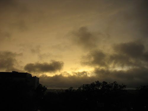a Tropical storm Debby sunset by freestone