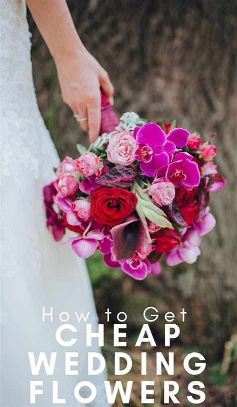 Top 5 Ways to Get Cheap Wedding Flowers   The Frugal Navy Wife