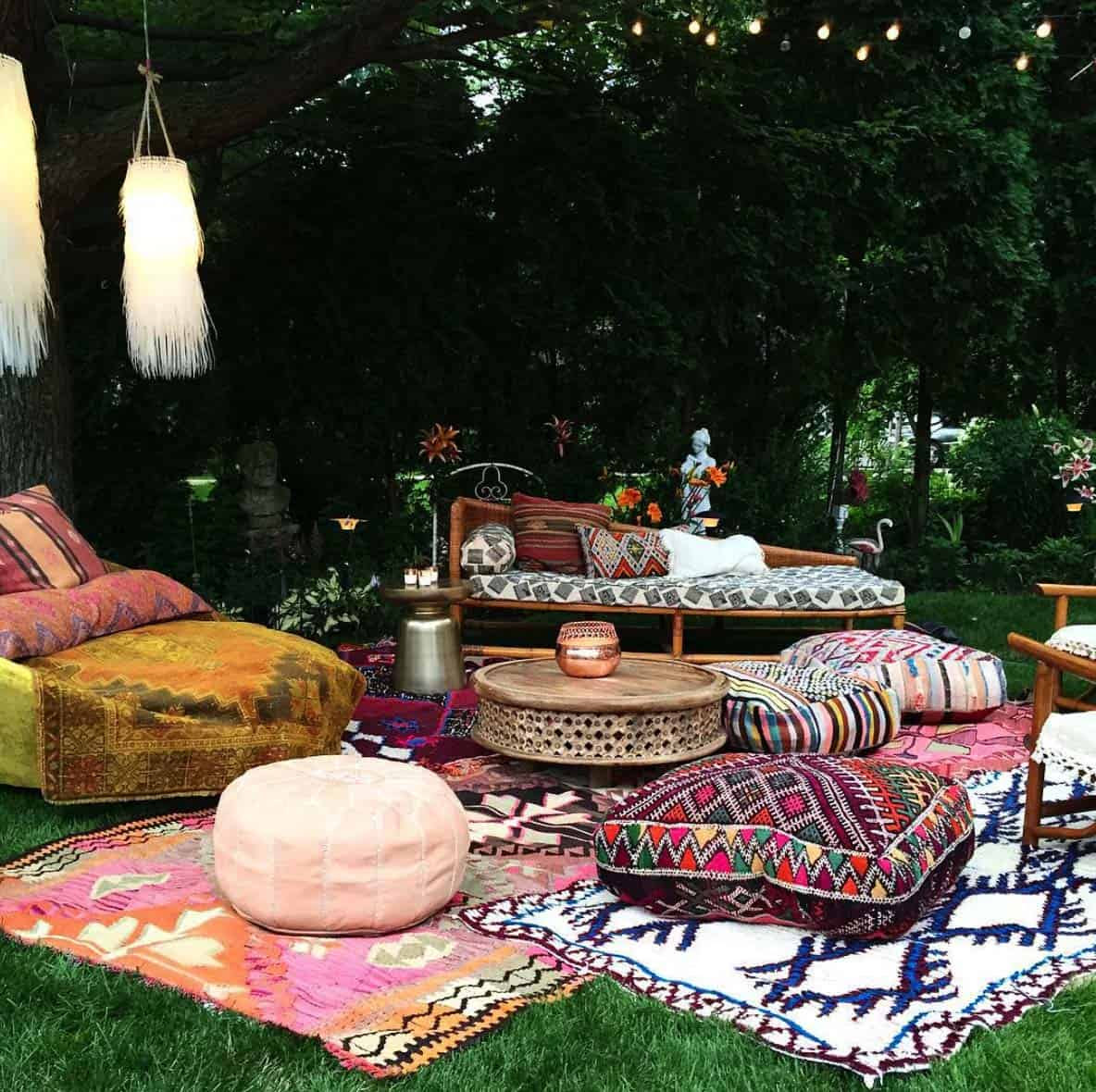 Bohemian Garden Design Ideas 07 1 Kindesign
