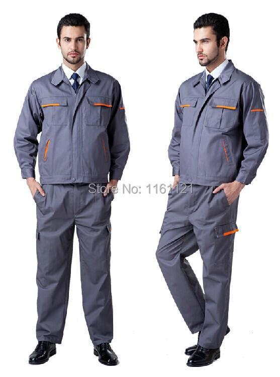 2015 New Mens 100% Cotton Coveralls Factory Uniforms ...