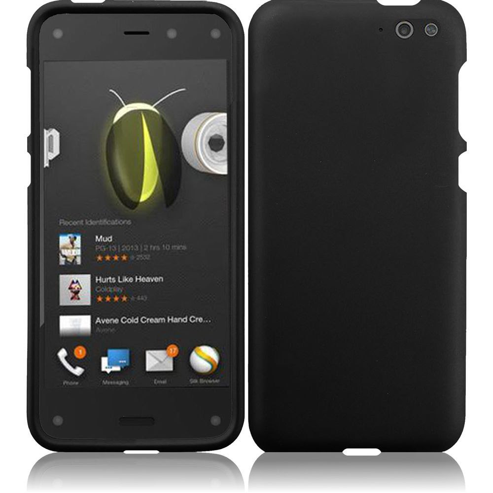For Amazon Fire Phone Rubberized Matte Snap-On Hard Case