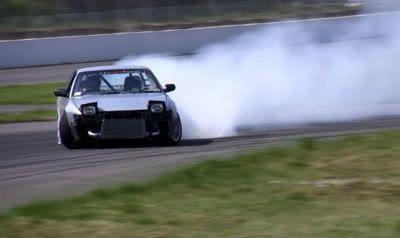 The art of motorsport drifting.