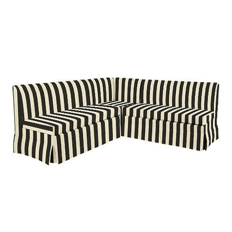 "Coventry Sectional: Corner Bench, 48"" Bench and 48"" Storage Bench"