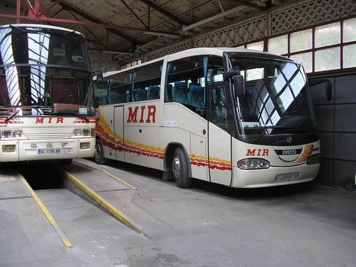 Autobus de l'empresa TRANSPORT MIR de Ripoll