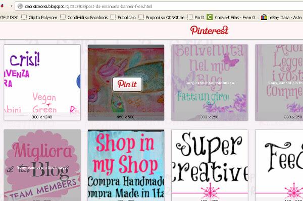 pin it dal blog