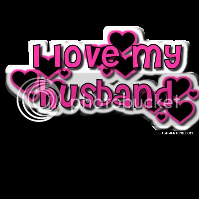 Husband Wife Facebook Graphic I Love My Husband
