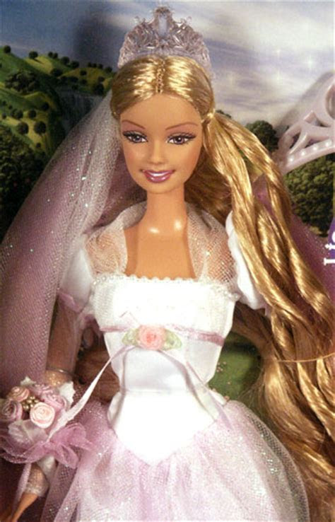 Barbie Rapunzel's Wedding with Prince Stefan and Barbie