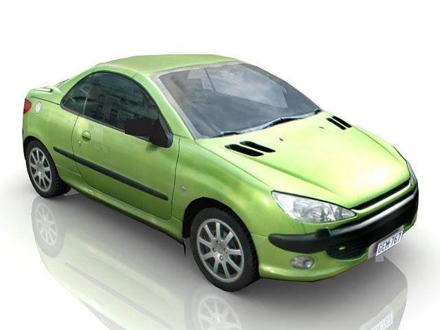 Low Poly Sedan Car 3d Model Cadnav - car 3d model free download for max