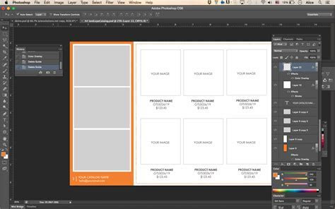Wholesale Catalog template, Product Catalog, InDesign