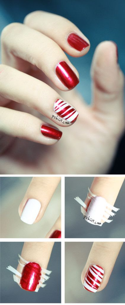 50 Creative Christmas Nails. The Ultimate Gallery Of Christmas Nail Art, Designs And Stencils For The Winter Holidays