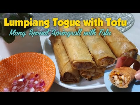 LUMPIANG TOGUE WITH TOFU
