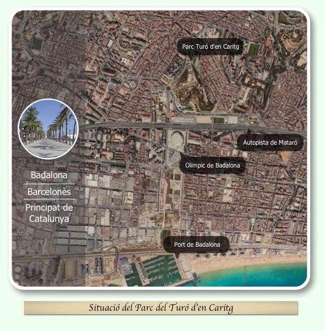 Mapa situació Turó d'en Caritg