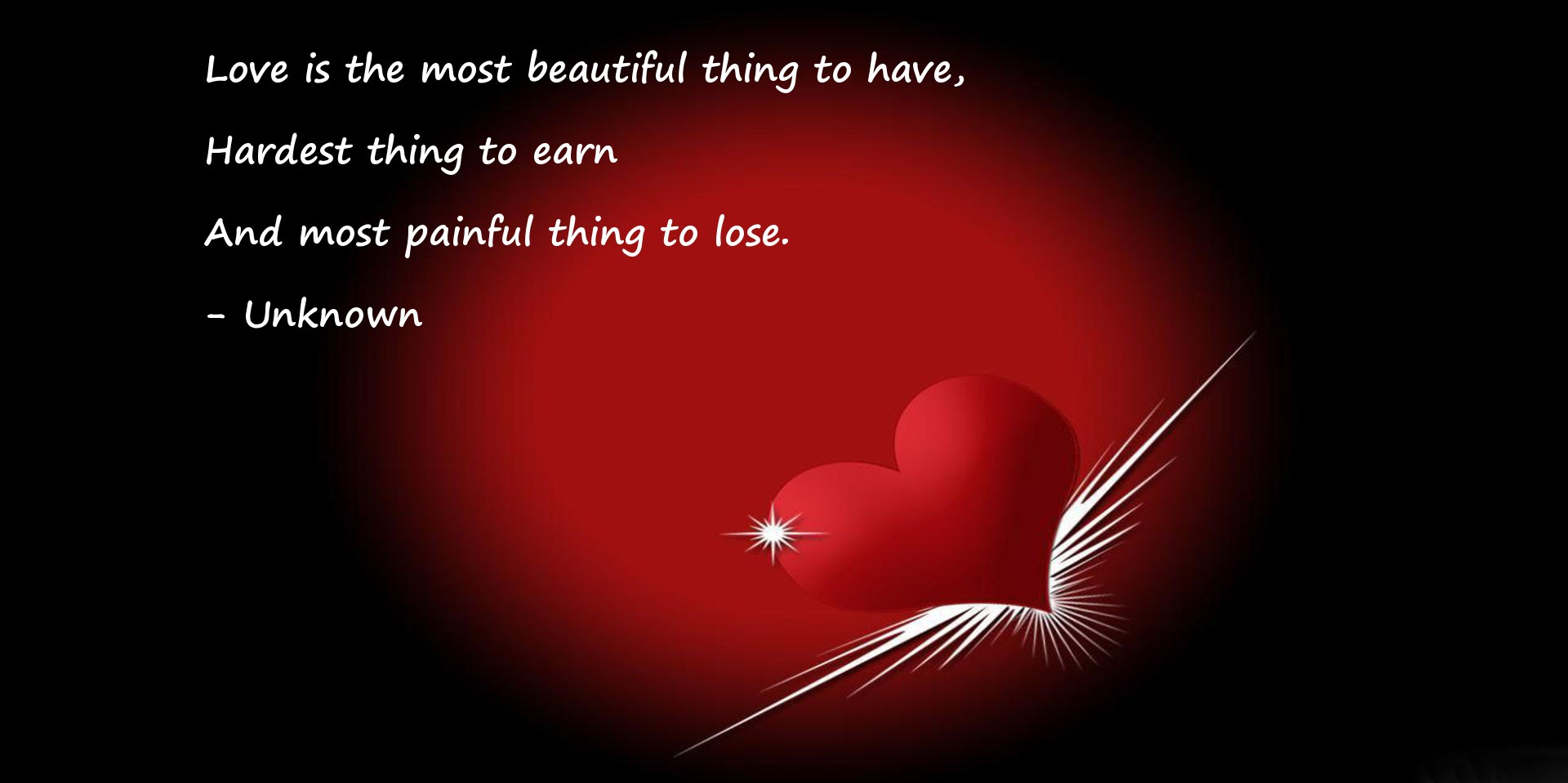 Love Is The Most Beautiful Thing To Have Love Quote Latestwall