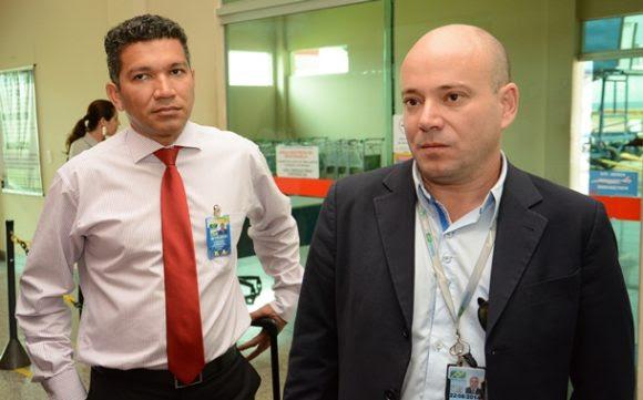 Técnicos da Infraero avaliam o aeroporto de Rondonópolis