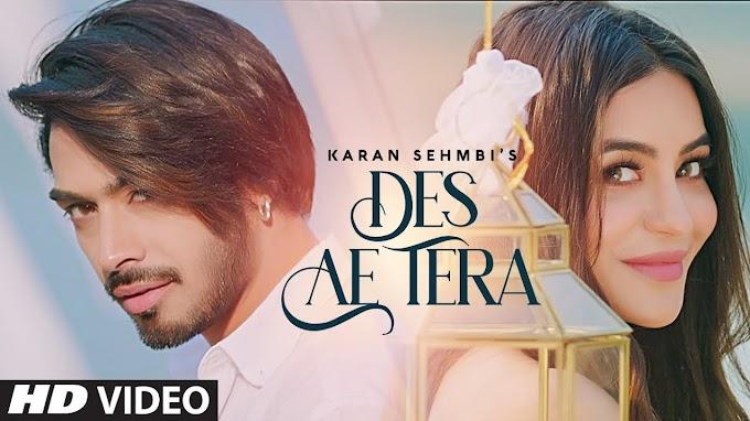 DES AE TER LYRICS - KARAN SEHMBI
