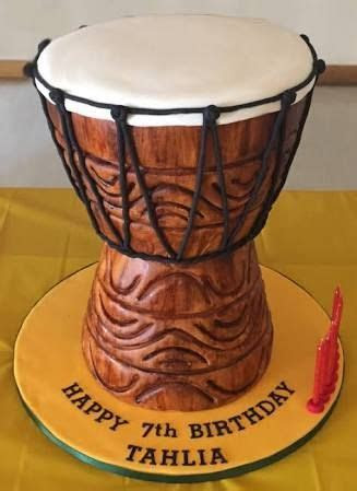 african drum cake   Google Search   Marcia's birthday