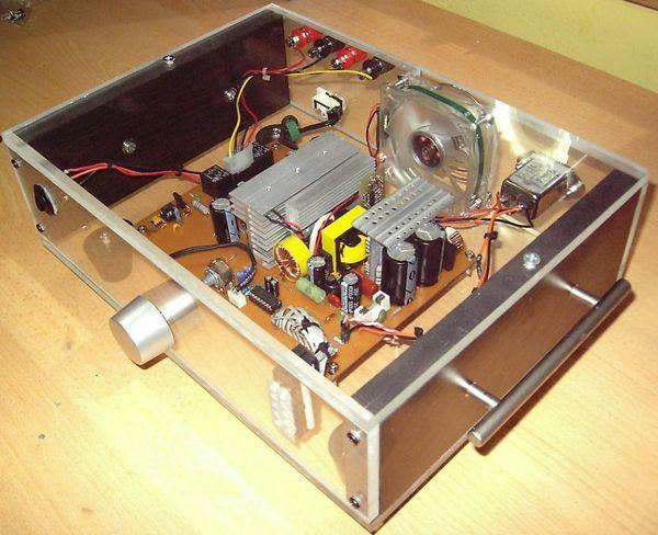 SMPS-Amphi-tda1562q an toàn trên 2