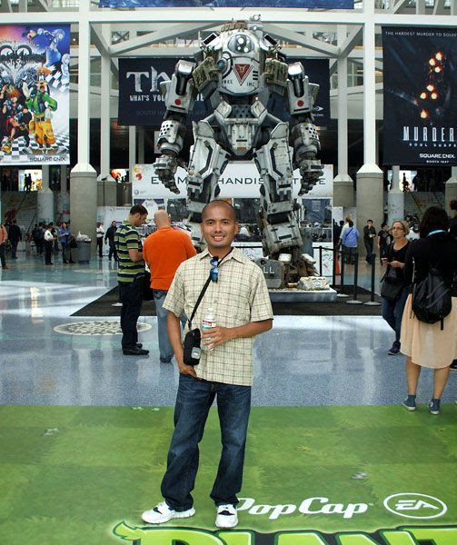 At the Los Angeles Convention Center for E3, on June 11, 2013.