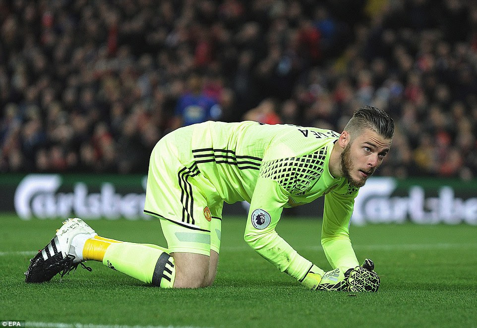 The Spanish stopper proved an unbeatable last line of defence in the second half for United to earn his side the draw