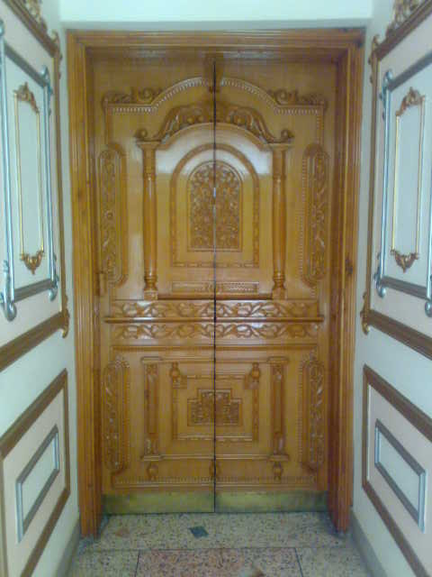 carved door,one of my oldest projects made 12 years ago - by ...