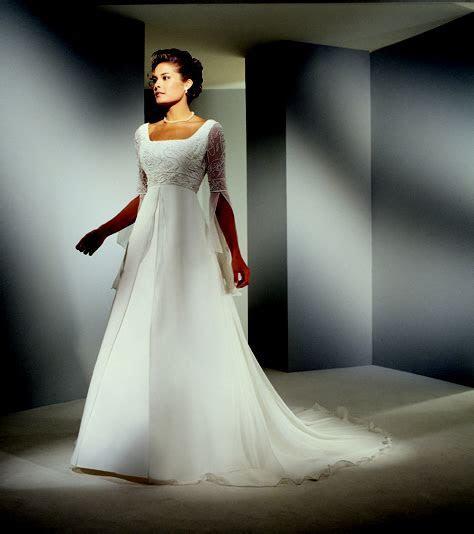 One wedding dress, two sleeves, zero frump?   Ask MetaFilter