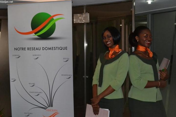 Air Cote d'Ivoire's Domestic Network
