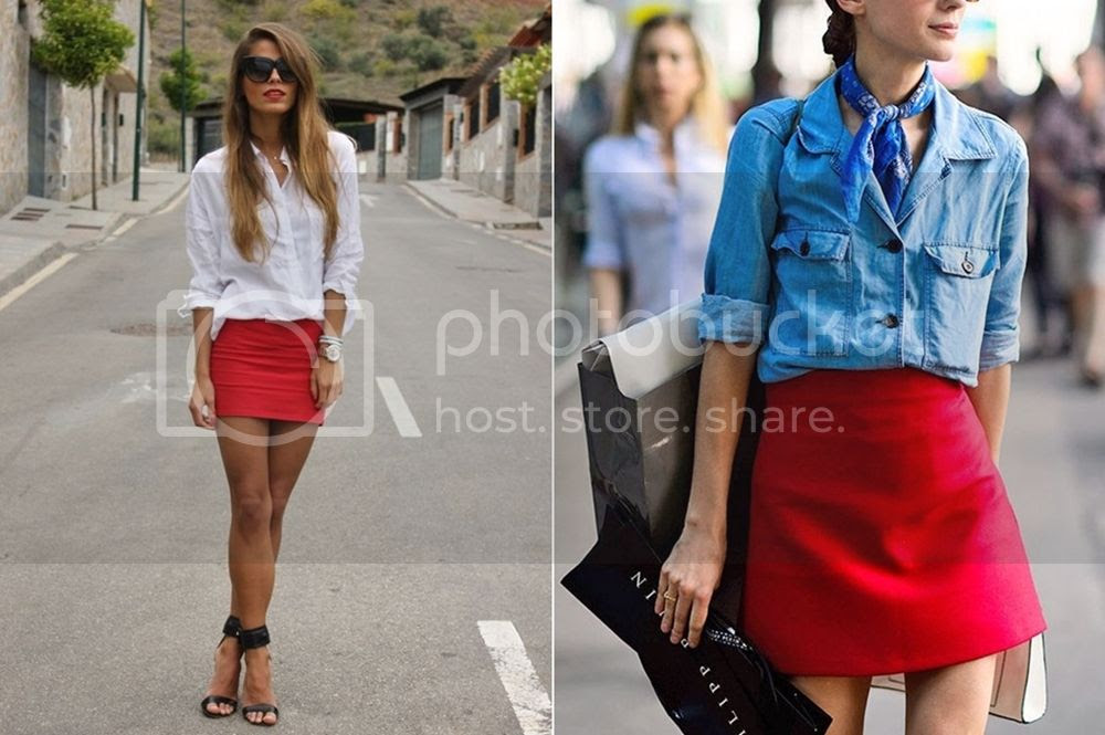 Top 3 reasons for red skirts - red Mini Skirts Picture  posted by Annie K, Fashion and Lifestyle Blogger, Founder, CEO and writer of ANNIES BEAUTY HOUSE - a german fashion and beauty blog