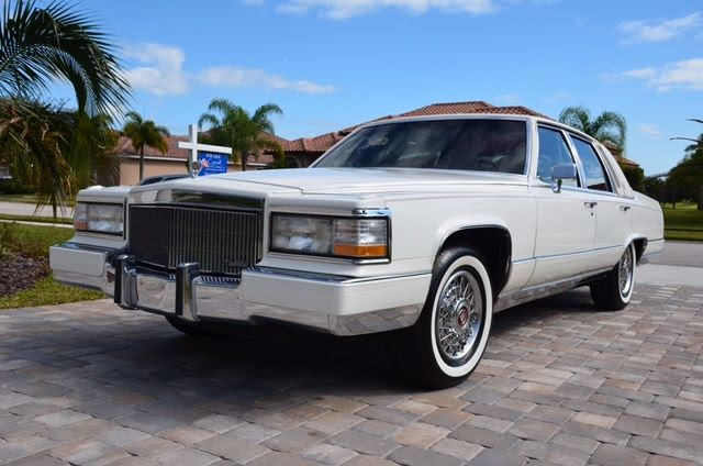 1990 Cadillac Brougham d'Elegance Sedan 4-Door 5.7L ...