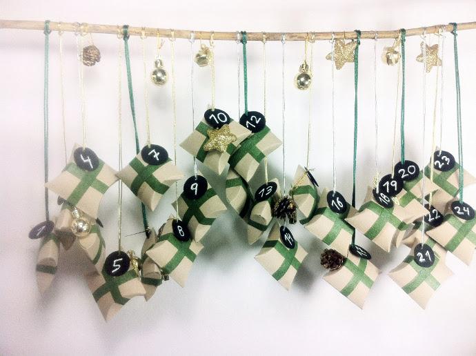 Cómo convertir rollos de papel WC en cajitas de cartón para regalo