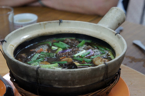 Braised Lamb in Claypot