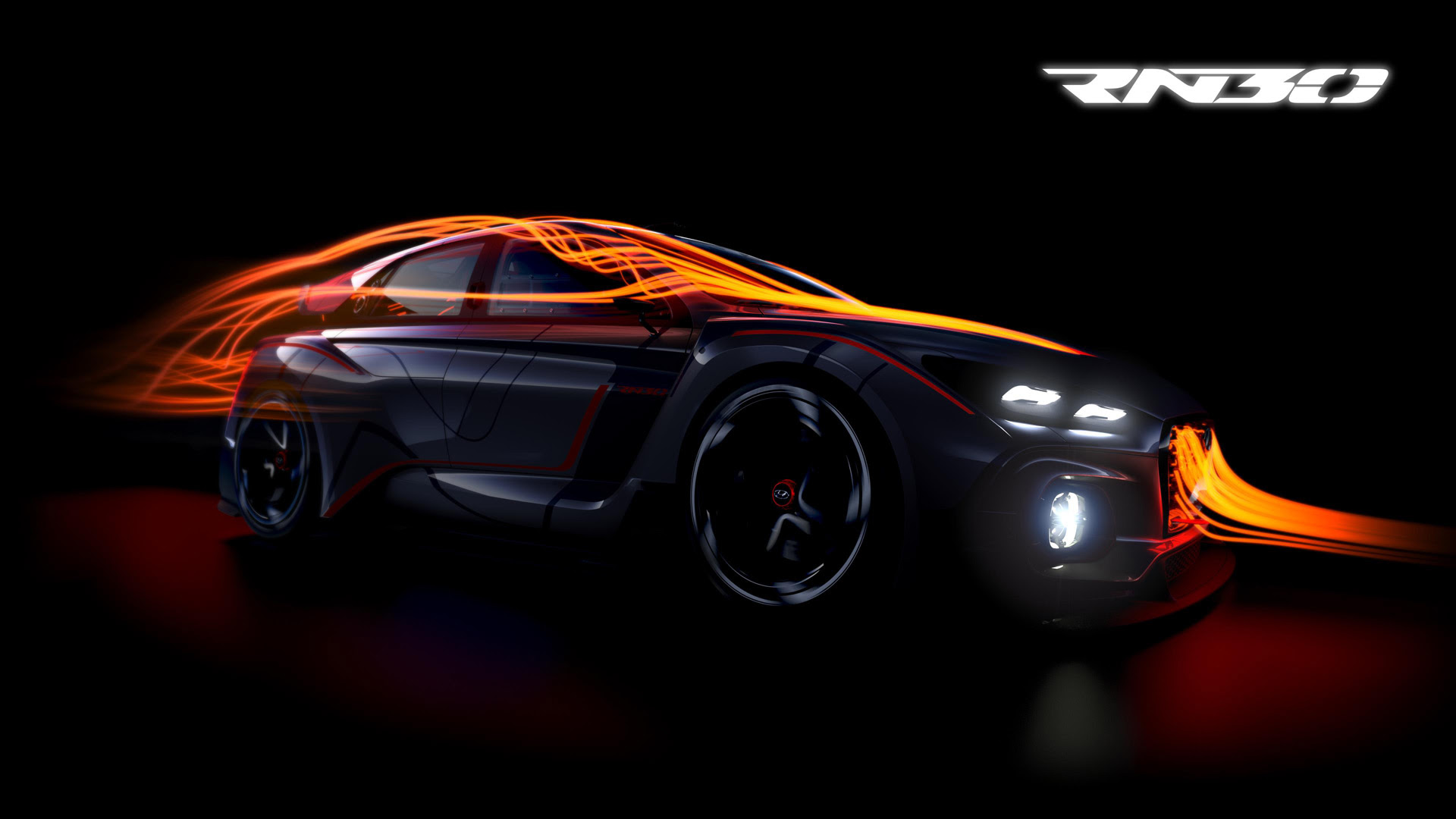 New concept previews Hyundai i30 N hot hatch